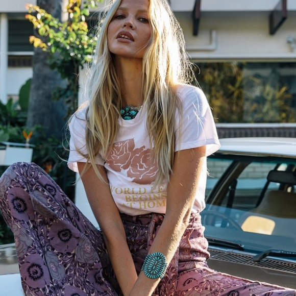 Spell & The Gypsy Collective Tops - ❤️SOLD❤️ Chasing Unicorns Peace Tee medium